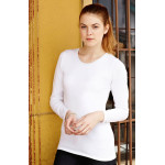 Fruit of the Loom Lady-Fit Long Sleeve Crew Neck T