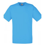 Fruit of the Loom - Value Weight Tee - Azure Blue - L