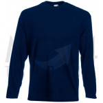 Fruit of the Loom - Value Weight LS T - Deep Navy - M