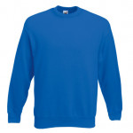Fruit of the Loom - Set-In Sweat - Royal - XXL