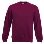 Fruit of the Loom - Set-In Sweat - Burgundy - XL