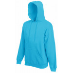 Fruit of the Loom - Hooded Sweat - Azure Blue - XXL