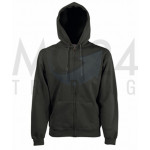 Fruit of the Loom - Hooded Sweat Jacket - Light Graphite...