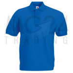 Fruit of the Loom - Piqué Polo Mischgewebe - Royal - M