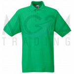 Fruit of the Loom - Piqué Polo Mischgewebe - Kelly Green...